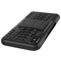 кронштейны для пк оптовых-Новое прибытие для iphone case прочный шин броня телефон Case Hybrid PC+TPU Heavy Duty противоударный кронштейн крышка телефона