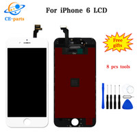 Wholesale oem assembly - High quality A+++ For iPhone 6 LCD Display with Touch Screen Assembly Digitizer Replacement Parts Brand New No Dead Pixels Tianma OEM LCD