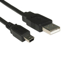 typ b ladegerät großhandel-3m lange MINI USB Kabel Sync Ladekabel Typ A bis 5 Pin B Ladegerät