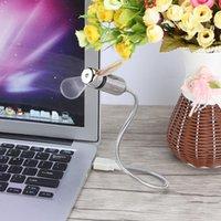 mesaj fanları toptan satış-Taşınabilir USB Fan LED Işık Programı Düzenlenebilir Mesaj Dizüstü Dizüstü Bilgisayar Ücretsiz Nakliye için Soğutma Fanı