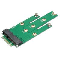 msata mini toptan satış-SSD mSATA B tuşu M.2 NGFF SATA Adaptörü Dönüştürücü Adaptör Kartı Kurulu Dizüstü Masaüstü için