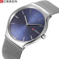 66439282d705a TOP marca de luxo curren moda homens de negócios relógios ultra-fino masculino  relógio analógico de quartzo esportes aço relógio de pulso à prova d  água