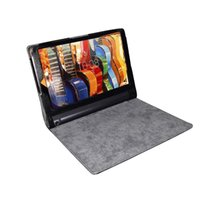 Wholesale Book Case Tablet - para la For Lenovo Yoga Tab 3 10.1 Cover Stand Flip Folio for Yoga YT3-X50F X50M X50L Protective Tablet Leather book Case