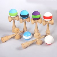 Wholesale japanese balls for sale - Kendama Ball Big size cm Japanese Traditional Wood Kendama Ball Game Toy Education Gift Kendama Ball Wood Toys OTH873