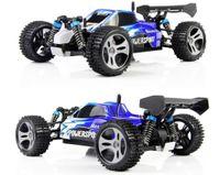 tamiya voitures électriques rc achat en gros de-tamiya mini voiture de course Wltoys A959 de voiture de contrôle à distance 2 .4ghz 4wd avec 40 -60km / heure haute vitesse cadeau de jouet de voiture électrique Rc pour garçon
