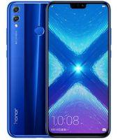 huawei google telefon großhandel-Ursprüngliche Huawei Ehre 8X Globale Firmware Entsperrt Telefon Octa Core 64 GB / 128 GB 6,5 Zoll Hinterkamera 20MP Android 8.0 4G LTE