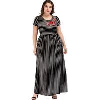 8094f5a1a4 Wholesale cotton abaya dress online - 3185240 European and American Big  Size Women s Dress Muslin