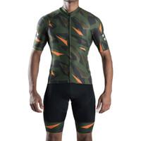 siyah siklon şortları toptan satış-SıCAK YENI EN IYI KALITE Siyah Koyun Bisiklet Barmy Ordu Yeşil Cammie Kiti bisiklet forması ve önlüğü şort stokta mix boyutunu kabul