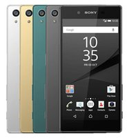 xperia handys großhandel-Generalüberholtes Original Sony Xperia Z5 E6653 E6683 Unlocked Octa Core 3GB / 32GB 5.2 Zoll 23MP 4G LTE