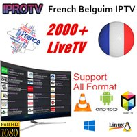 Wholesale arabic iptv online - Iprotv Europe Arabic French Belgium Africa IPTV Subscription for Android Smart TV Box as XIAOMI H96 X96 X92 MAG254 MAG250 Samsung SmartTV