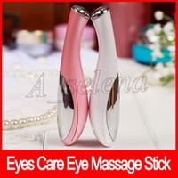 ingrosso massaggiatore di occhi vibranti-Eye Massage Stick Occhi Rughe Rimozione Penna Rimozione Eye Massager Beauty Occhi Cura Ruga Rimozione strumento di vibrazione
