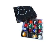 çocuklar oyunları ev toptan satış-Çocuklar Için Normal Renk 38 MM HAVUZU TOPLARı Ev Kullanımı Masa, Promosyon Hediye ve Mini Oyun Bilardo Havuz Topları