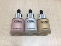 Wholesale rising stocks - In Stock!!! ICONIC LONDON ILLUMINATOR liquid highlight 6 colors glow shine original Moon Beam 24K Gold lrie Rose dropshipping