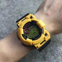 movimiento analógico de cuarzo al por mayor-2018 Nuevos hombres de la moda Relojes Casual Hombre Digital al aire libre Natación Relojes militares Japón Movimiento Reloj analógico de cuarzo Reloj