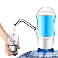 Wholesale mini water taps - Water Pump Mini Tap Electric Water Pump Bottle Drinking Blue Usb Rechargeable Dispenser Bottled Pump For Water Bottle