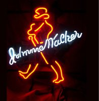 Wholesale Party Stores - Neon Signs Gift JOHNNIE WALKER Beer Bar Pub Store Party Room Wall Decor 24x20