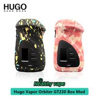 Wholesale large mods online - new selling Hugo Vapor Orbiter GT230 Box Mod no overhang with mm tank large TFT display screen