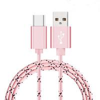 micro luces al por mayor-S-Mart Cable USB Línea de datos Cables de luz Adaptador Cargador Cargador de alambre para teléfono Android 1M 3FT Para teléfono I 5 6 7 8