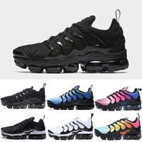 huge discount 6442e f9e42 Nike air max vapormax TN Plus Olive Hommes Sport Chaussures de Course  Sneakers Hommes Run Métallique Blanc Argent Colorways hommes Chaussures  Pack Triple ...