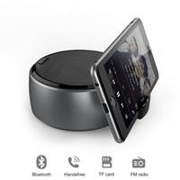 cep telefonu çalar toptan satış-Kablosuz Bluetooth Hoparlör Stereo Ses Süper Bas Müzik Çalar Cep Telefonu PC Için Tutucu Standı iPhone 6 7 8 Artı X Samsung Galaxy