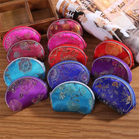Wholesale clutches for wedding - Classic Retro Silk Women Wallet Mini Originality Luxury Designer Brand Ladies Purse Exquisite Wedding Clutch Bag For Decor 0 75ld ZY