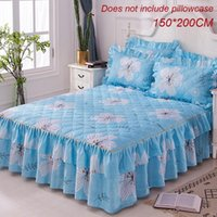 lençóis florais venda por atacado-150 * 200 cm tampa de cama Floral Fitted Folha de Cobertura graciosa colcha de cama Fitted Folha Cama Quarto Saia