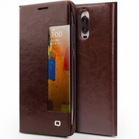 Wholesale Fit Functions - 50156 y 44204 Case for Huawei Ascend Mate9 pro Luxury Leather Flip Cover for Huawei Mate9 pro Sleep Wake Function Smart Case