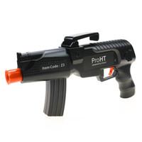 siyah oyuncak tabanca toptan satış-Bluetooth Denetleyicisi Uzaktan Kumanda Oyuncaklar Silah Oyunu Kontrolörleri Joystick AR Oyun Gun Gamepad Oyun Aksesuarları Siyah Telefon Için