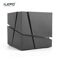 ingrosso edificio per casse per diffusori-Altoparlanti Bluetooth Altoparlanti portatili wireless bluetooth mini box cubo esterno costruito nel microfono supporto FM radio TF card per la casa all'aperto