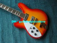linkshändige 12-saitige gitarren großhandel-Fabrik direkt Linkshänder Gitarren 325 330 E-Gitarre 12 Saiten Cherry Burst Qualität HEISS