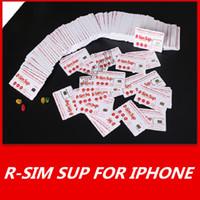 heicard iphone venda por atacado-Brand New Original Rsim ativação Inteligente desbloquear cartão SIM Cartão de Desbloqueio Heicard para iPhone6 7 8 suporte XS MAX editar iccid no iphone