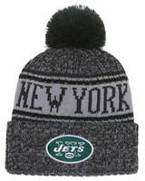 ingrosso cappello beanie per gli uomini stile-2019 Team Jets Berretti NY Caps Pom Sport Cappello Uomo Donna Ordine Mix 32 Teams Tutto Berretto Cappello lavorato a maglia Cappello di alta qualità Più di 5000 + stili