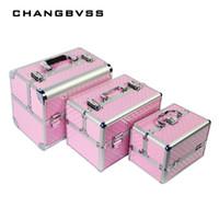 профессиональные подарки для женщин оптовых-Professional Cosmetic Case Women Wedding Gift Box Beauty Makeup Travel Train Cases  Make Up Jewelry Bag Storage Case