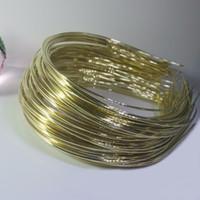стальная лента для волос оптовых-10PCS 1.5mm Gold Rhodium Steel Wear The  Hair Band Headband Setting Head Wear Girl Hair Band Base For Jewelry Making