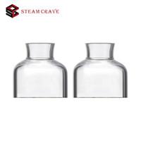 el deseo de vapor al por mayor-Original 2pcs Steam Crave Glaz RDSA tapa superior de vidrio Pyrex pieza de repuesto de vidrio para el Steam Crave Glaz RDSA E-cigs accesorios