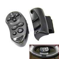 Wholesale new car audio dvd resale online - OOTDTY Universal Steering Wheel Learning Bluetooth Remote Control For Car CD DVD VCD New