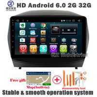 Wholesale Hyundai Tucson Gps Dvd - QZ industrial HD 9inch Android 6.0 Car DVD player for Hyundai Tucson IX35 2011-2015 with GPS WIFI 3G 4G BT Radio Navigation SWC RDS free map