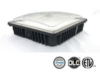 Wholesale airport parking - UL DLC Approved 45W 70W LED Canopy Light Industrial Factory Led High Bay Light Gas Station Lamp Parking Garage Warehouse Lamps AC 100-277V