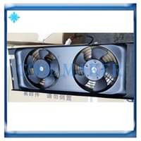 condensador de aire al por mayor-Ventilador de condensador electrónico del radiador de enfriamiento del acondicionador de aire del vehículo de la construcción