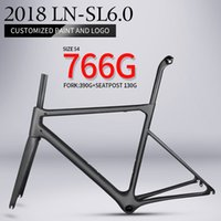 Wholesale Carbon Road Bicycle 48cm - 2018 T1000 only 766g super light aero carbon road bike frame Chinese high quality light weight carbon fibre bicycle frame