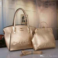 Wholesale Flower Shopping Bags - New CC Brand Bag Women Gabrielle Composite Famous Designer C Shoulder Bag Leather Handbags Tote Womens K0 Shopping HOBO Bags