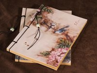 ingrosso notebook per uccelli-Notebook Vintage-Vintage [Serie GUFENG Spring Bird] in stile cinese