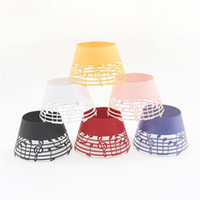 Wholesale cut lace cupcake for sale - Group buy Muffin Cup Musical Note Lace Laser Cut Cupcake Heat Resisting Baking Paper Cups Multi Color ym C R