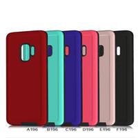 ingrosso pittura ad olio in pelle-Per Samsung S9 S8 Plus J7 J3 Prime Pelle Vernice Casse del telefono Per Iphone 6 7 8 X Aomor Cassa Del Telefono Top Quality