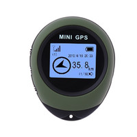 gp şarj edilebilir toptan satış-Güncelleme mini gps pg03 Alıcı Navigasyon El Yer Bulucu USB Şarj Edilebilir Pusula USB Şarj Edilebilir Açık Spor Seyahat Için