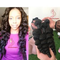 Loose Wave Hair Bundles Real 100% cabelo humano Weave Remy Hair Bundles 10-28 inch Natural Color