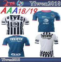 Wholesale xl project - 2018 2019 Rayados Monterrey Jersey 18 19 home away Project Pink 3rd soccer jerseys top thai quality Molina Sanchez HURTADO shirts size S-2XL