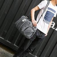 sac de bagage violet achat en gros de-Sac de sport sac de sport sac de voyage pourpre nouvelle mode hommes femmes