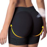 popo kaldırıcı iç çamaşırı toptan satış-Moda Seksi Kadınlar Lady Butt Kaldırıcı Kalça Artırıcı Şekillendirici Yastıklı Külot Iç Çamaşırı