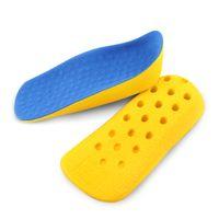 ingrosso scarpe da ginnastica-Sottopiede sportivo tallone sportivo traspirante assorbente per il piede scarpa plantare ortopedica ammortizzata per il tallone Solette per assorbimenti per uomo e donna